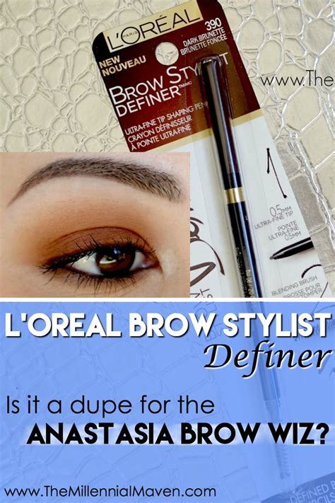 L Orel Brow Stylist Definer l or 233 al brow stylist definer a brow wiz dupe the