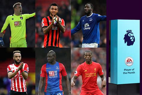 epl player of the month october 2017 ea sports player of the month vote now