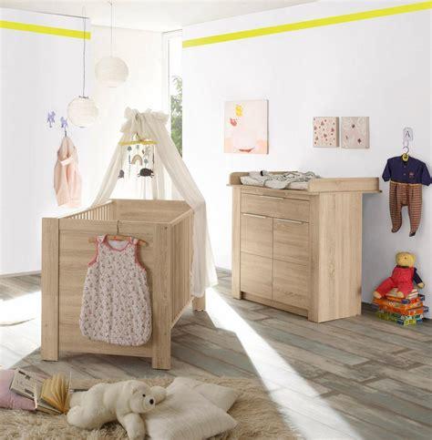 Babyzimmer Eiche babyzimmer spar set 187 hamburg 171 babybett wickelkommode 2