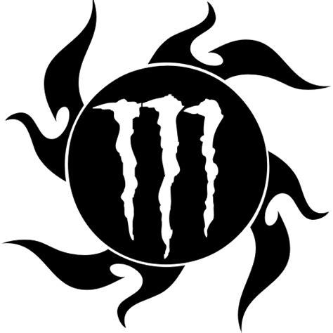 Monster Energy Aufkleber Chrom by Sticker Et Autocollant Monster Energy Soleil