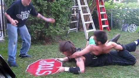 chw backyard wrestling chris vega vs ric roberts chw backyard wrestling match