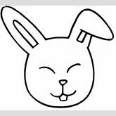... For > Bunny Rabbit Face Coloring Pages - ClipArt Best - ClipArt Best