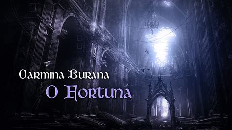 camina burana translation to o fortuna carmina burana