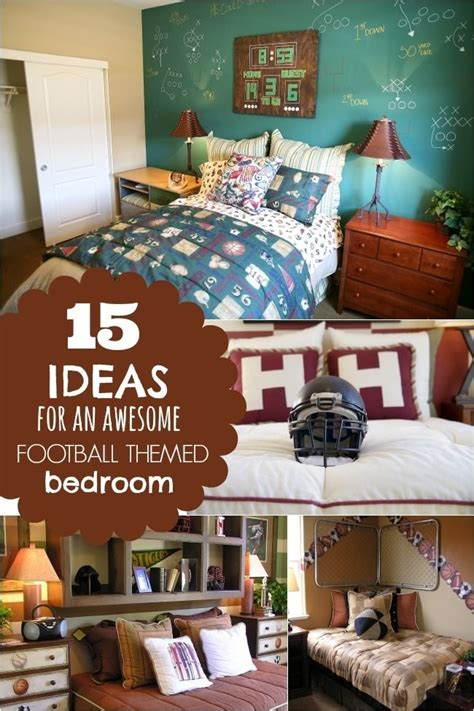 ideas   awesome football themed boys bedroom www
