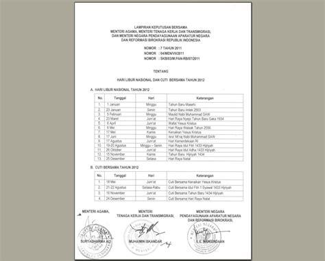 kalender 2012 lengkap dengan libur nasional