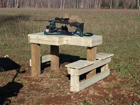 rifle shooting bench design i built one of these http renovation headquarters