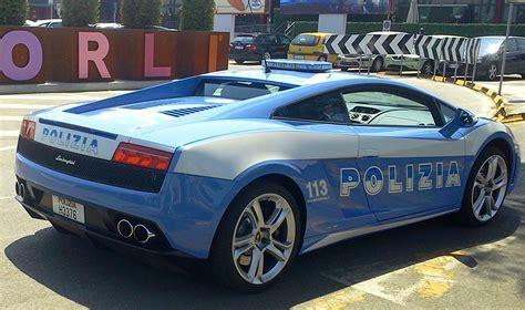 Lamborghini Gallardo Veloce Lamborghini E Bugatti Le Supercar Della Polizia