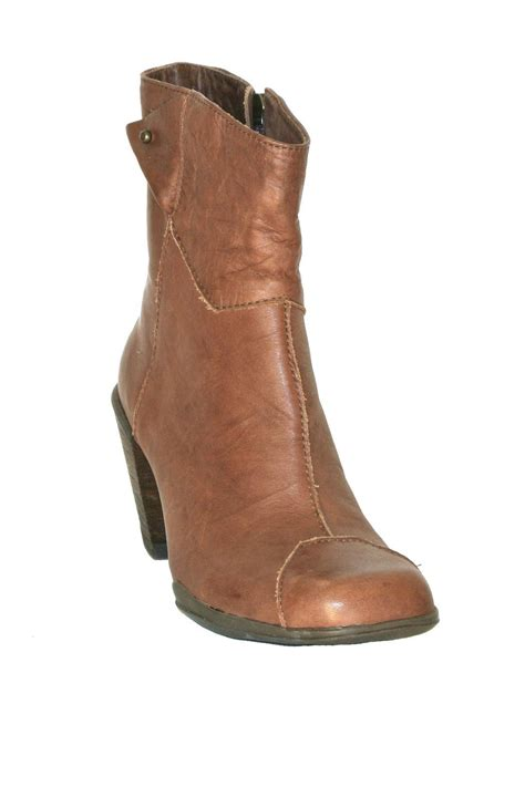Shoo Bsy Brown sergio tomani brown leather bootie from calgary by the