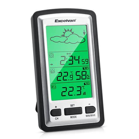 innen außen thermometer funk digital funk wetterstation thermometer mit au 223 ensensor