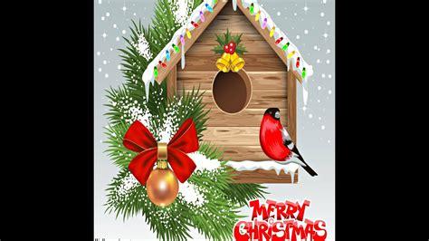 christmas cards send christmas   cards  custom merry christmas card youtube