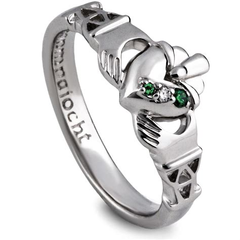 purity silver claddagh ring ls purclad1
