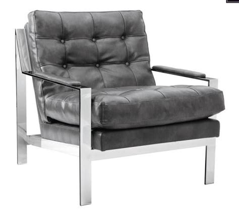 Grey Leather Armchair by Court Grey Leather Armchair From Sunpan 100118 Coleman