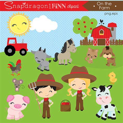 bauernhof scheune clipart barnyard clipart farm clipart farm animal clipart barn