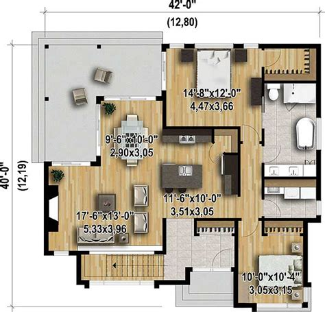 starter house plans contemporary starter house plan 80824pm architectural