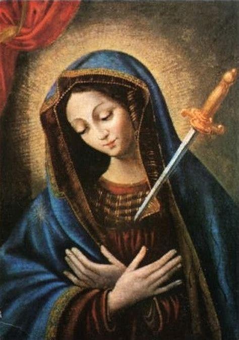 la virgen de los memoria de nuestra se 241 ora la virgen de los dolores espiritualidad digital