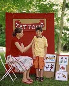 tattoo games for kids 1000 ideas about carnival on school
