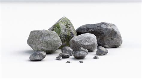 Rok Max stones rock 3d model max obj fbx mtl mat cgtrader