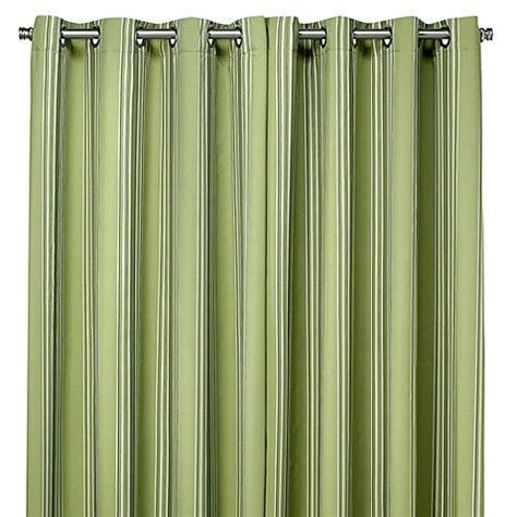 green outdoor curtains buy commonwealth home fashions gazebo striped 84 inch