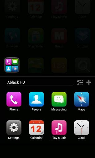 go launcher themes gallery mobile9 download a black hd go luncher theme go launcher themes