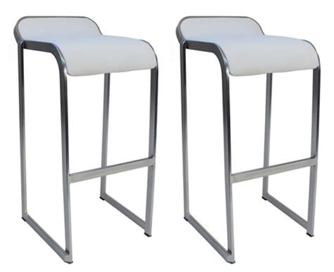 pair of brushed steel bar stools for sale at 1stdibs brushed stainless steel chrome satin kitchen breakfast bar