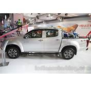 Isuzu D Max V Cross Side At Auto Expo 2016  Indian Autos Blog