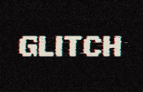 tutorial photoshop word how to create an easy digital glitch text effect in adobe