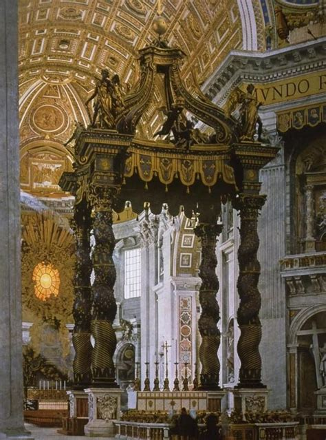 bernini baldacchino review at of studyblue