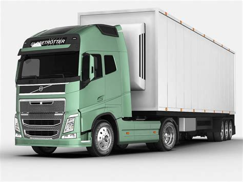 volvo fh    cgtrader