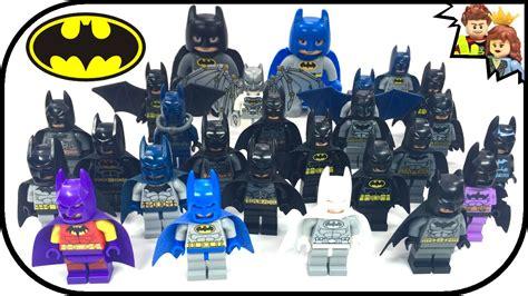 Batman The Lego Batman Collection every lego batman ultimate minifigure collection