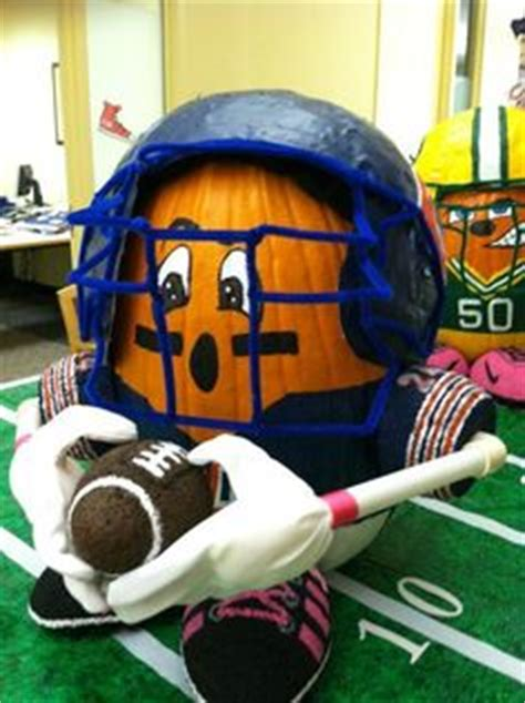 How To Make A Paper Mache Football Helmet - 1000 images about pumpkin decorating wizard