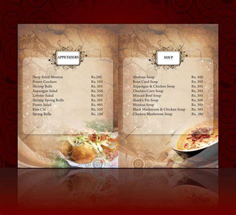 carta de un restaurante ideas para hacer dise 209 o carta menu restaurante