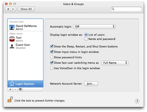 Mac Os X Autologin by Macos How Do I Login As A Different User On Mac Os X
