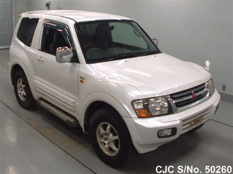how to learn about cars 2001 mitsubishi pajero windshield wipe control 2001 mitsubishi pajero white for sale stock no 50260 japanese used cars exporter