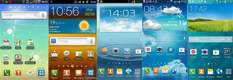 the evolution of touchwiz 5 years of change