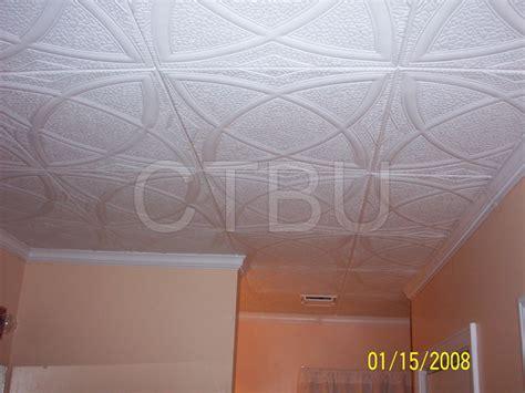 Foam Drop Ceiling Tiles Styrofoam Molding Installed