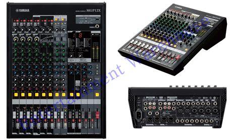 Audio Mixer Yamaha Mgp12x yamaha mgp12x