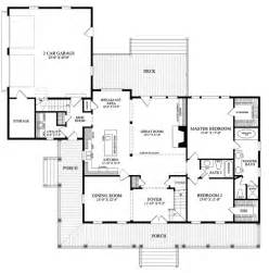 Traditional Floor Plans First Floor Plan Of Cottage Country Farmhouse Traditional
