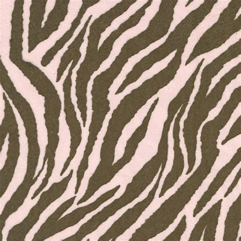 Pink And Brown Zebra Crib Bedding Pink And Brown Zebra Minky Fabric By The Yard Pink Fabric Carousel Designs
