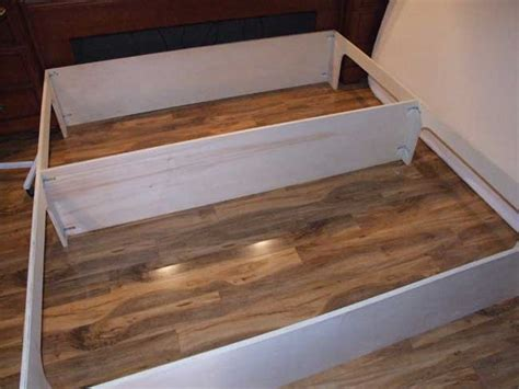 bed platform plans  storage  woodworking