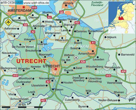 nieuwegein netherlands map karte utrecht provinz niederlande karte auf welt