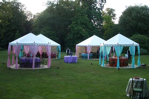 Outdoor Canopy Decorating Ideas by The Raj Tent Club 4m Pavilion