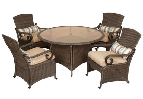 Wicker Patio Dining Set Clearance Patio Sets Clearance Lake Como Patio Dining Set 5 Wicker By La Z Boy Outdoor Sale