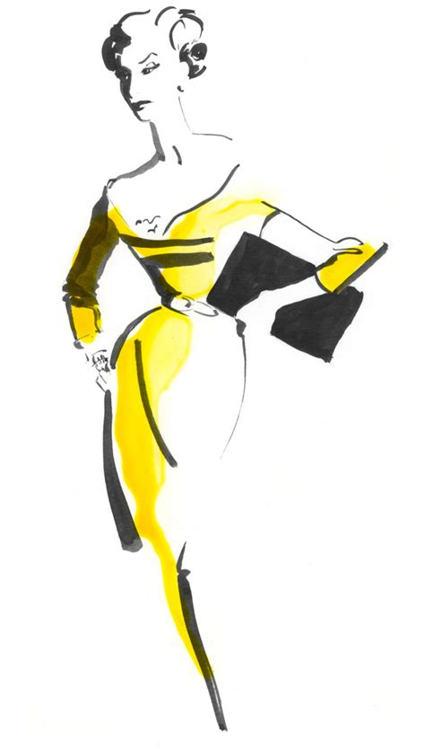 fashion illustration using ink image result for http www3 fitnyc edu museum