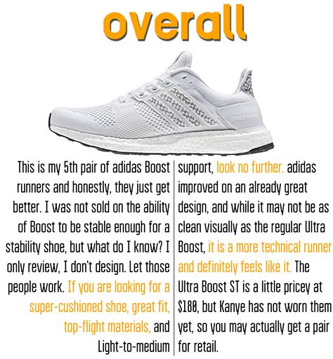 St Overal adidas ultra boost st performance review weartesters