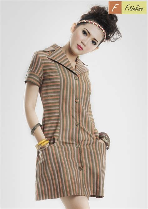 Pocket Dress Baju Anak 0147 Fitinline Cara Mudah Membuat Pola Simple Blazer