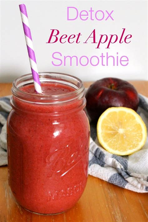 Beet Detox Smoothie by Detox Beet Apple Smoothie The Best Of This