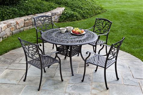 Metal Patio Furniture Sets Aluminum Patio Dining Sets Patio Design Ideas