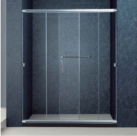 Three Panel Sliding Shower Door The Best Custom Semi Frameless 3 Panel Sliding Bathroom Glass Doors For Shower 1700 Width 72
