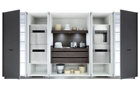 pocket doors in kitchen cabinetry perfect for hiding a tv kyton varenna by poliform kitchen by square space