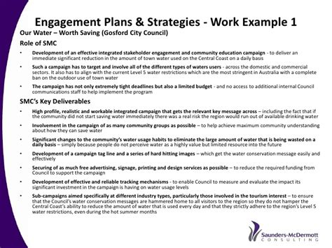 stron biz community engagement strategy template
